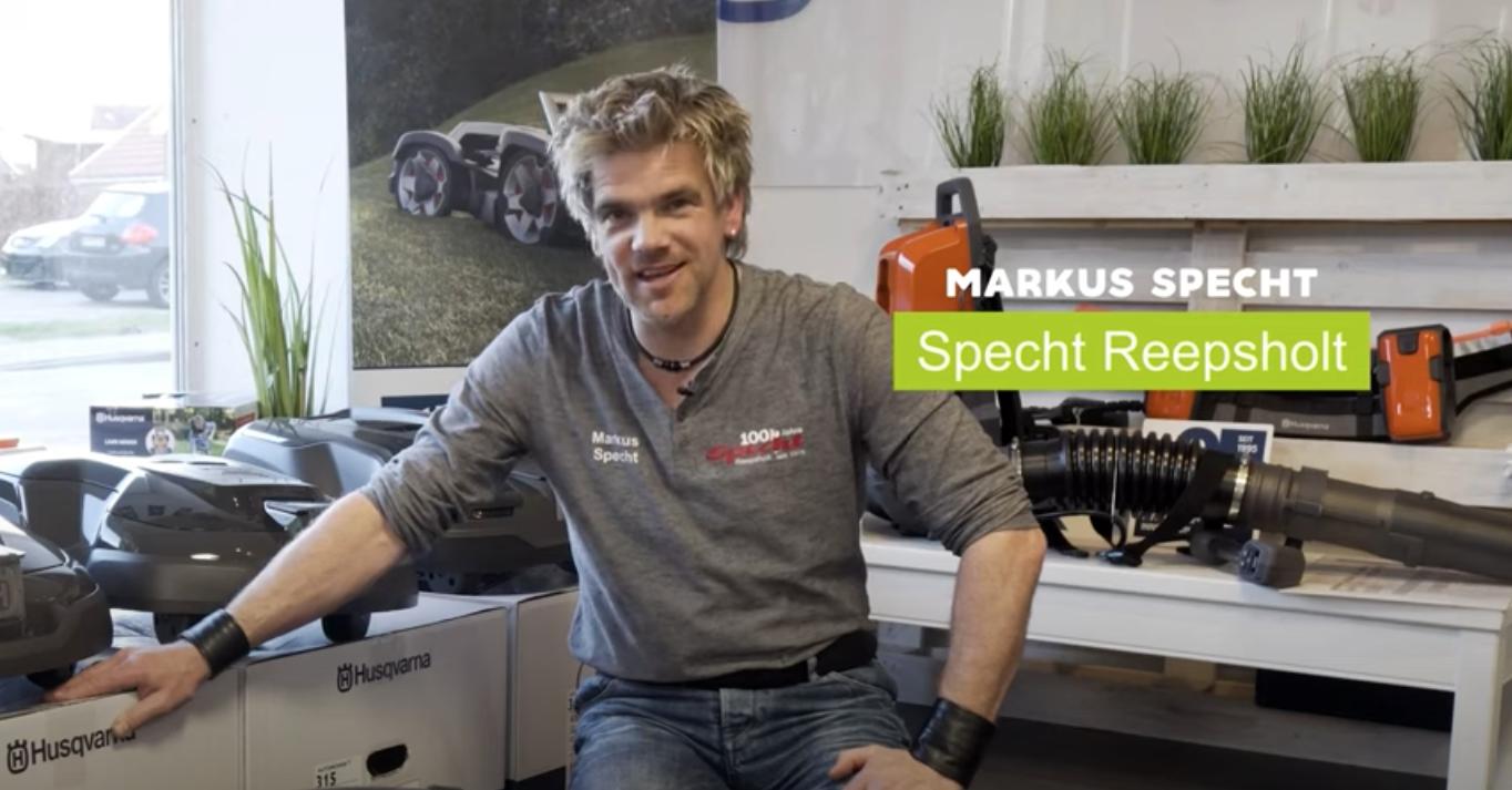 Markus Specht von Specht Reepsholt gibt Tipps zum Mähroboter-Kauf.