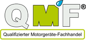 QMF: Qualifizierter Motorgeräte-Fachhandel Logo
